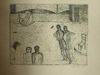 Edgar Augustin - Atelier mit Treppe